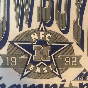 Vintage Dallas Cowboys 1992 NFC championship shirt
